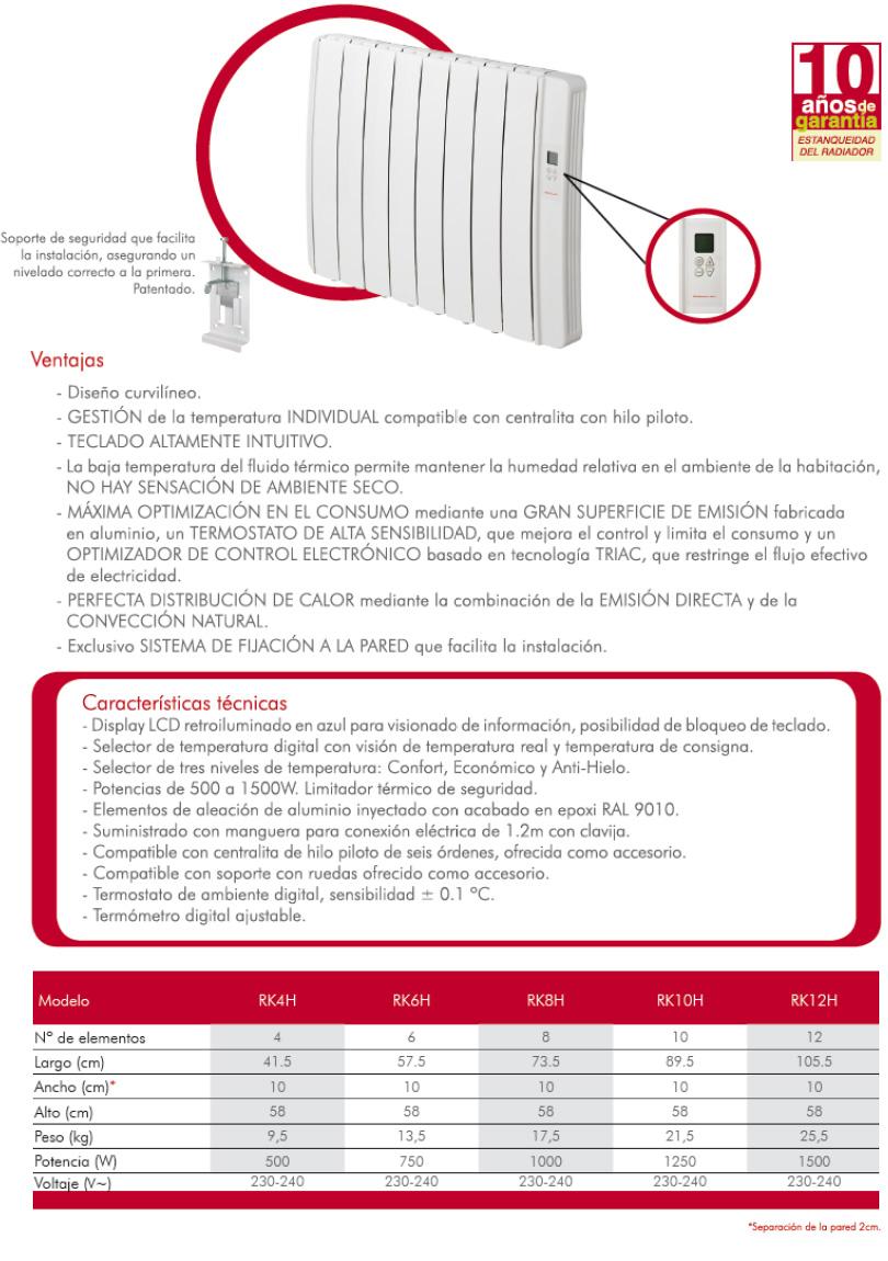 Comercial clivema calefacci n el ctrica - Mejor calefaccion electrica ...